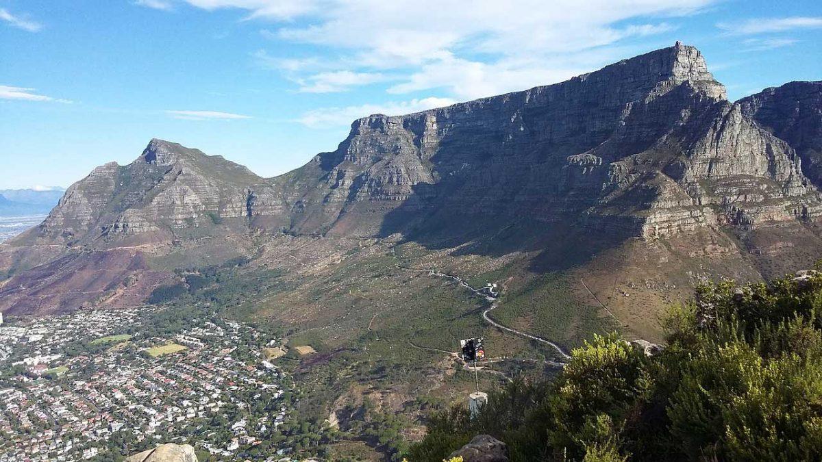 Table Mountain guida